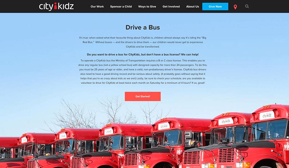 CityKidz Drive a Bus Detail